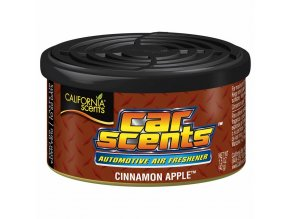 vůně do auta California Car Scents - JABLEČNÝ ŠTRŮDL (cinnamon apple)