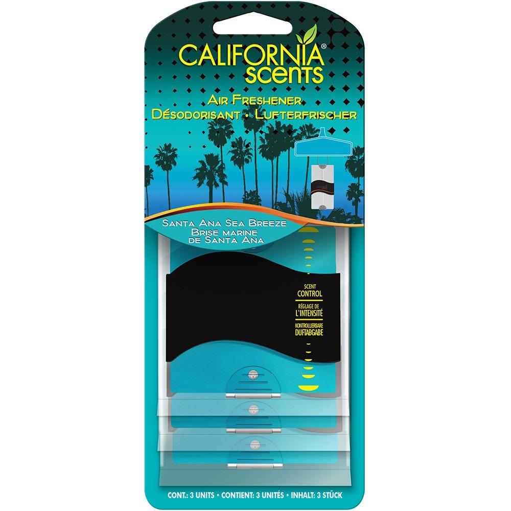 California Scents 3PK Paper - MOŘSKÝ VÁNEK 30g CSPP081-3EU