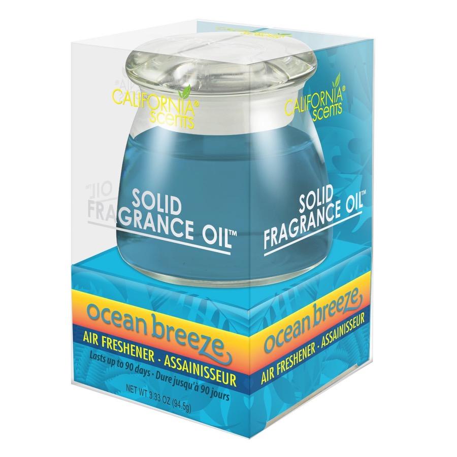 California Scents Solid Fragrance Oil - VŮNĚ OCEÁNU 94,5g