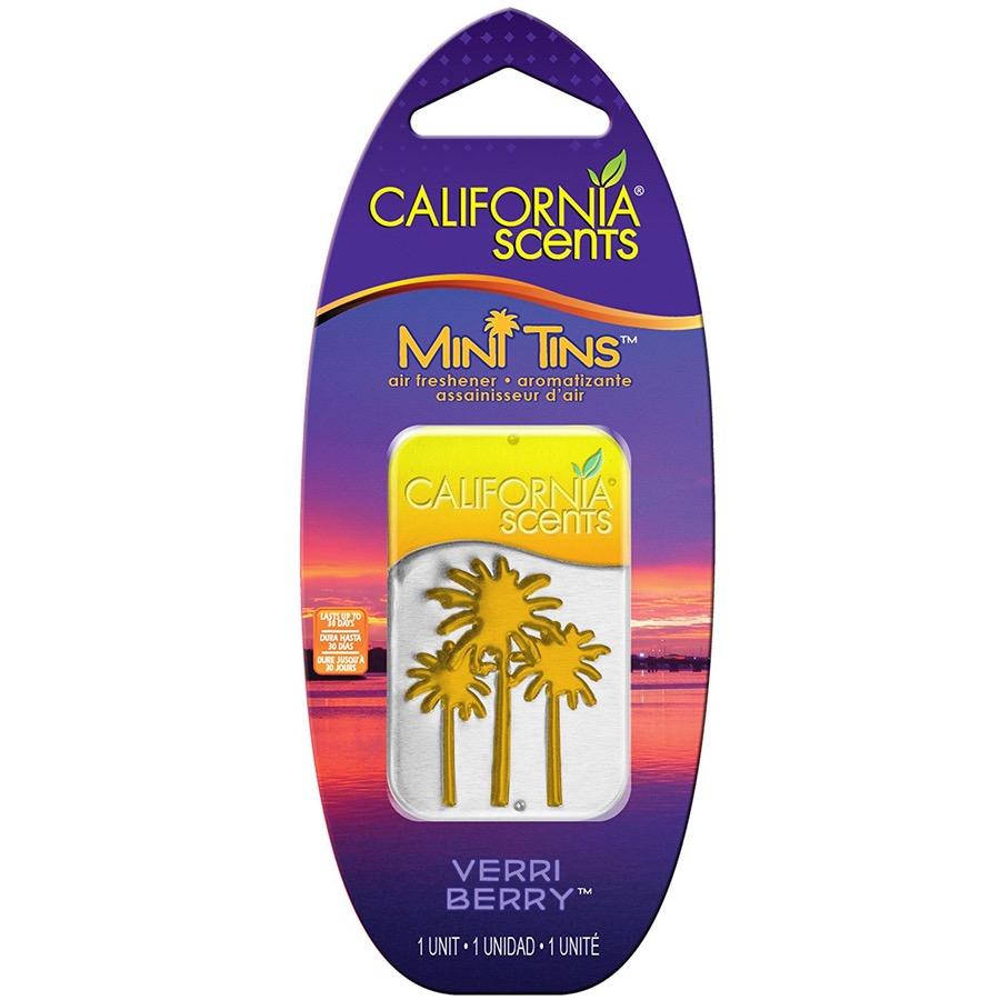 California Scents Mini Tins - BORŮVKA 10g MT-302