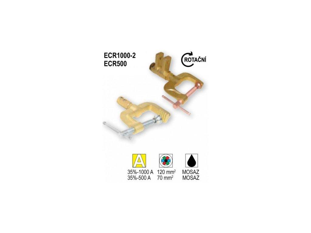 ECR1000-2 / ECR500 zemniace svorky