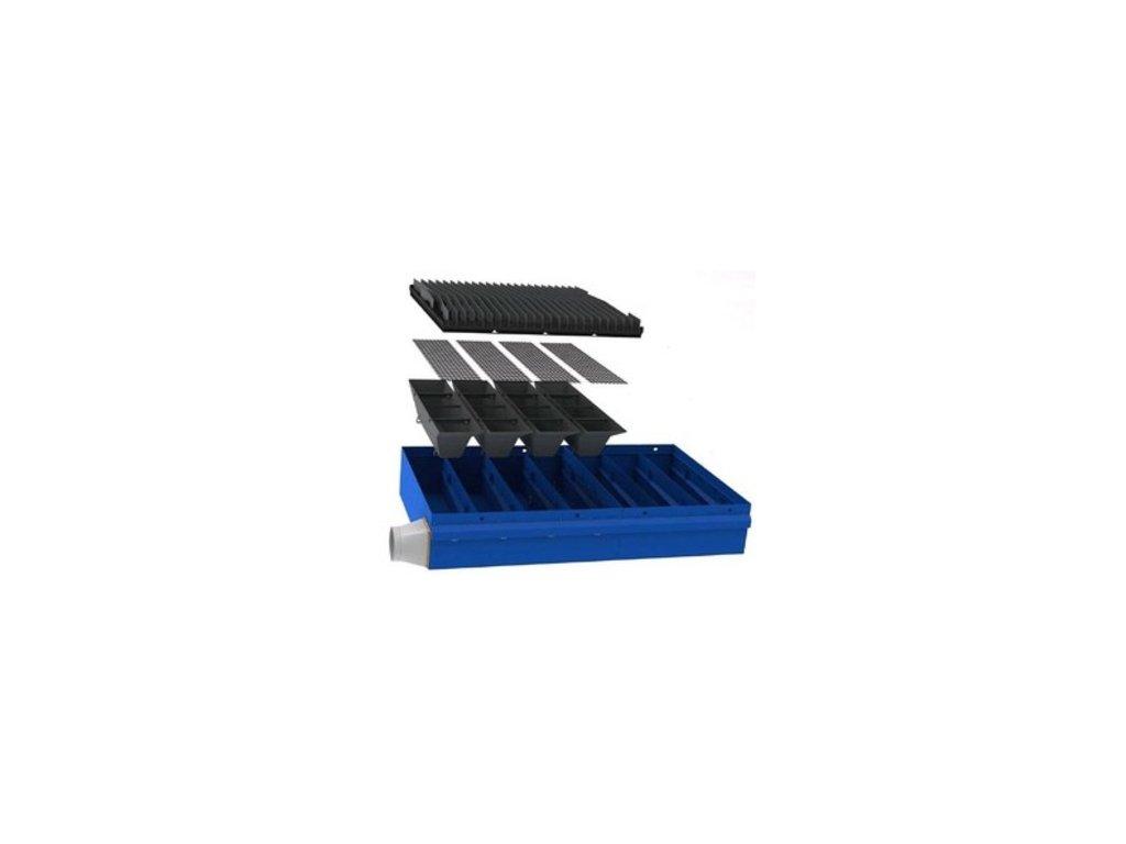 Materiálové stoly, Odsávacie stoly