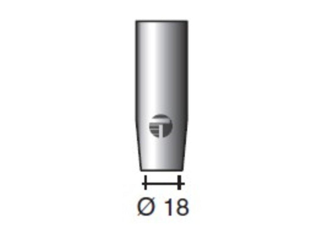 Plynová hubica ø,18-II