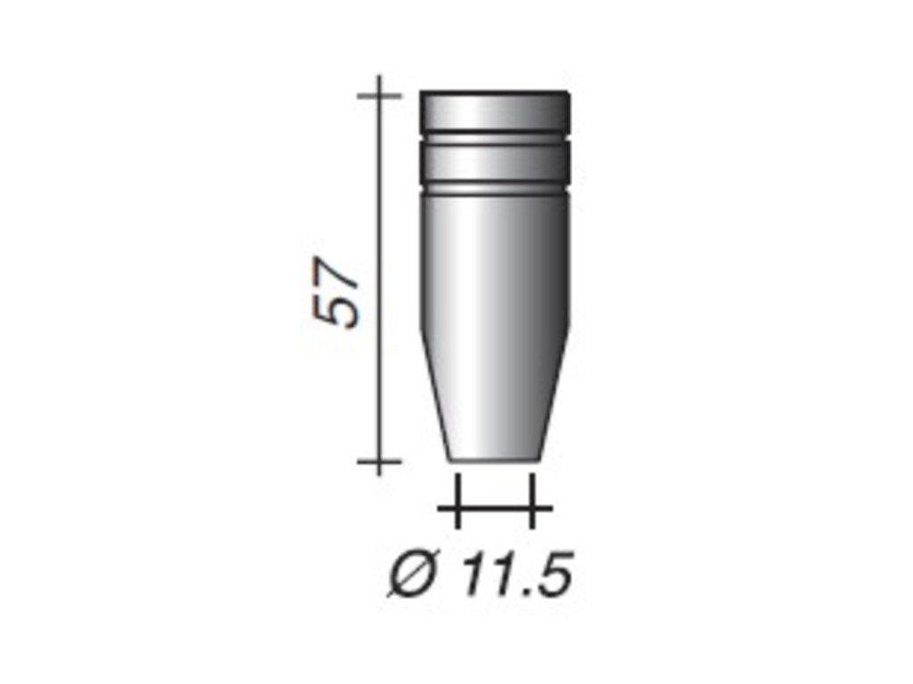 Plynová hubica Ergoplus ø,11,5