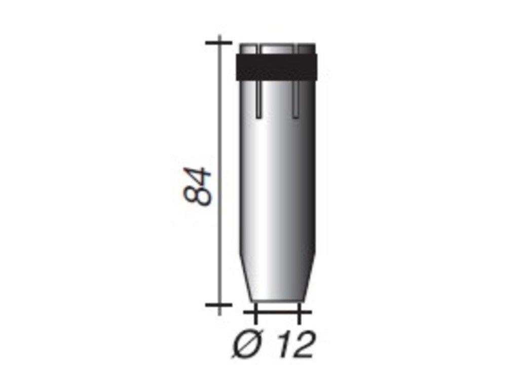 Plynová hubica Ergoplus ø,12-I