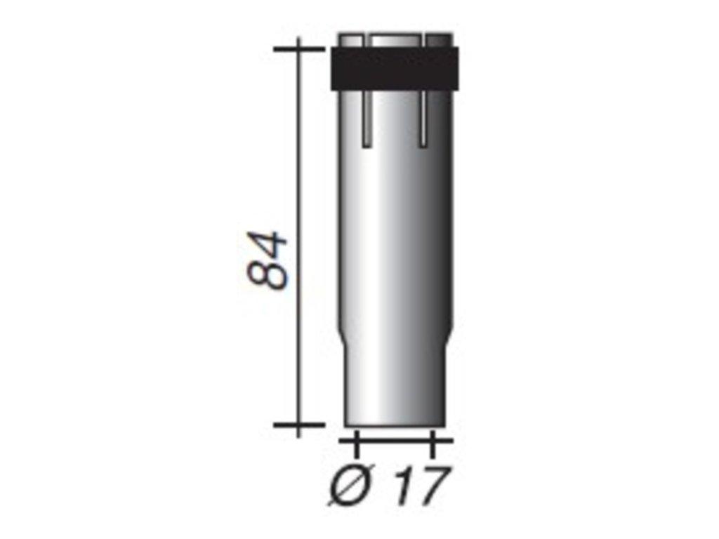 Plynová hubica Ergoplus ø,17