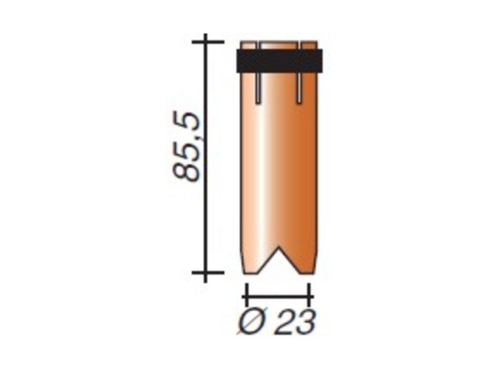 Plynová hubica ø,23