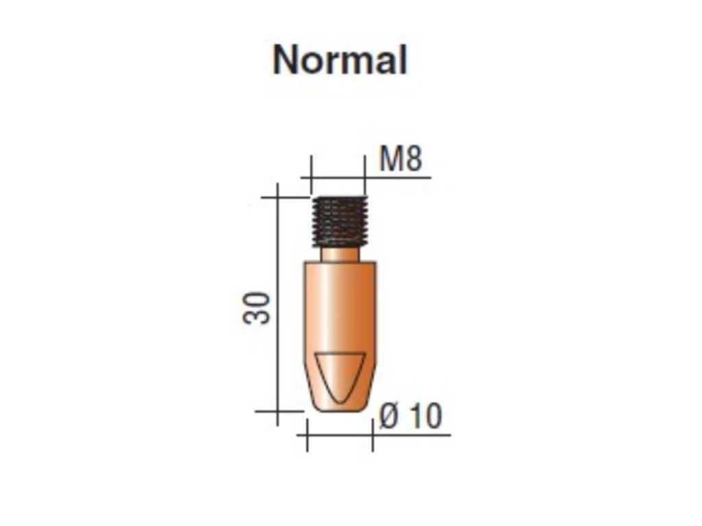 Kontaktná špička M8 x 30