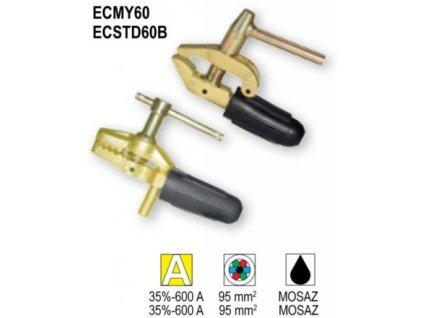 ECMY60 / ECSTD60B zemniace svorky