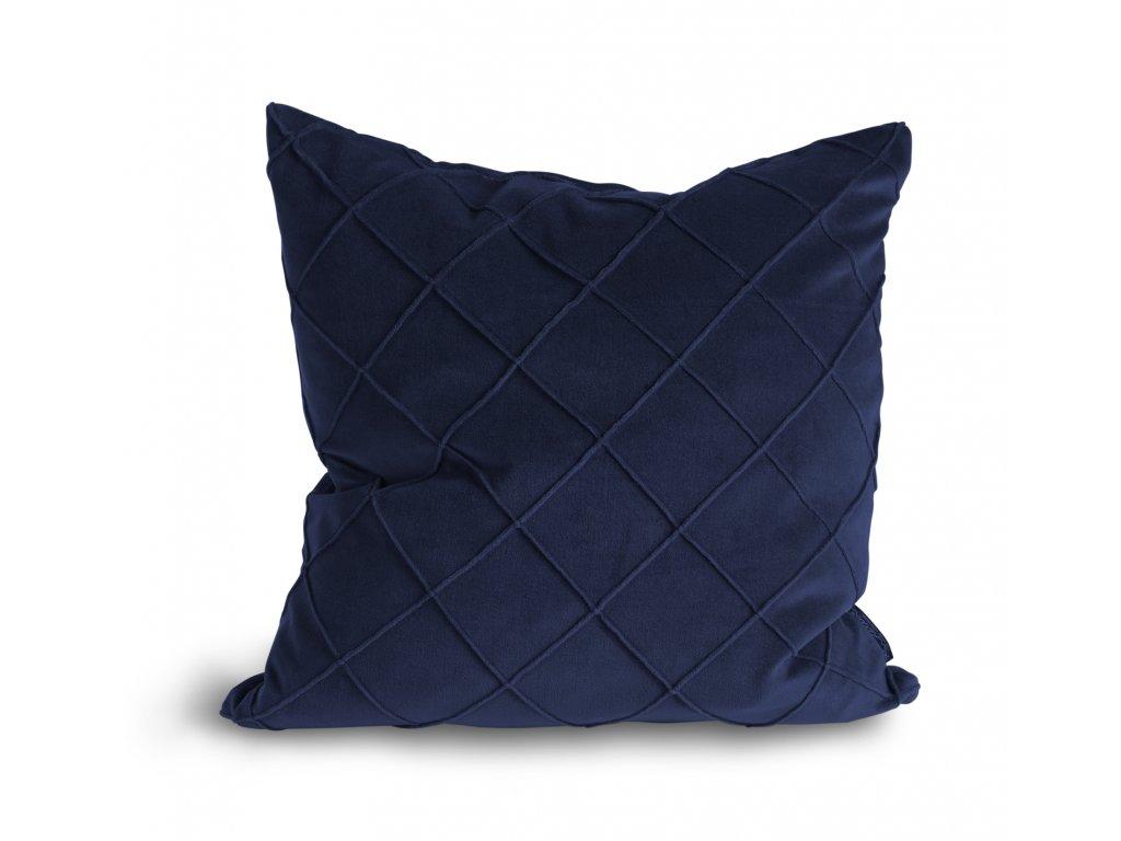Povlak na polštář Velvet Cushion Royal blue 47x47