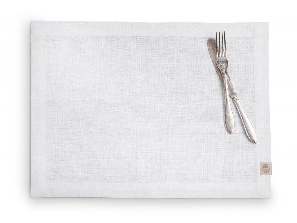 Lovely Linen prostírání 37x50 OFF-WHITE SINGLE