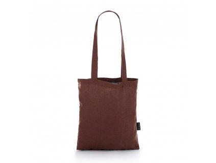 Lněná taška Hnědá Tom Linen
