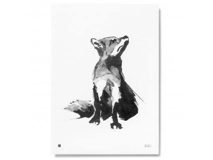 Plakát Red Fox 50x70