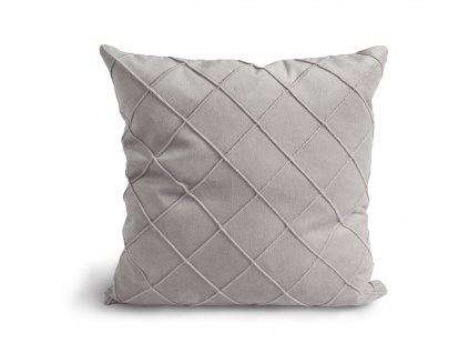 Povlak na polštář Velvet Cushion Light grey 47x47