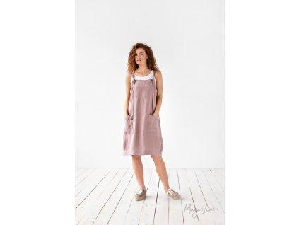 Dámské lněné šaty Visby