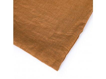 Lněné dětské povlečení Cinnamon 90x135, 40x60
