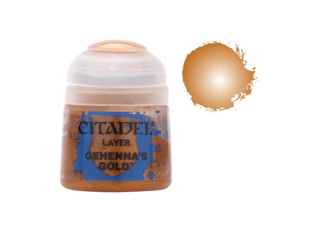GW Citadel Layer Gehennas Gold 12ml