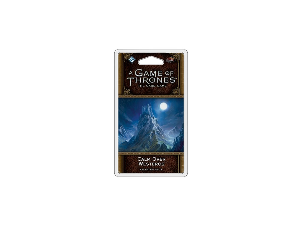 A Game of Thrones 2nd Edition Calm Over Westeros Chapter Pack