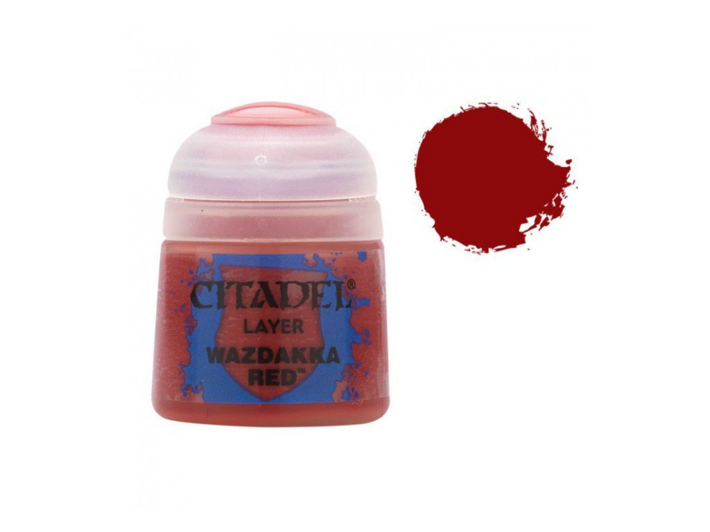 GW Citadel Layer Wazdakka Red 12ml