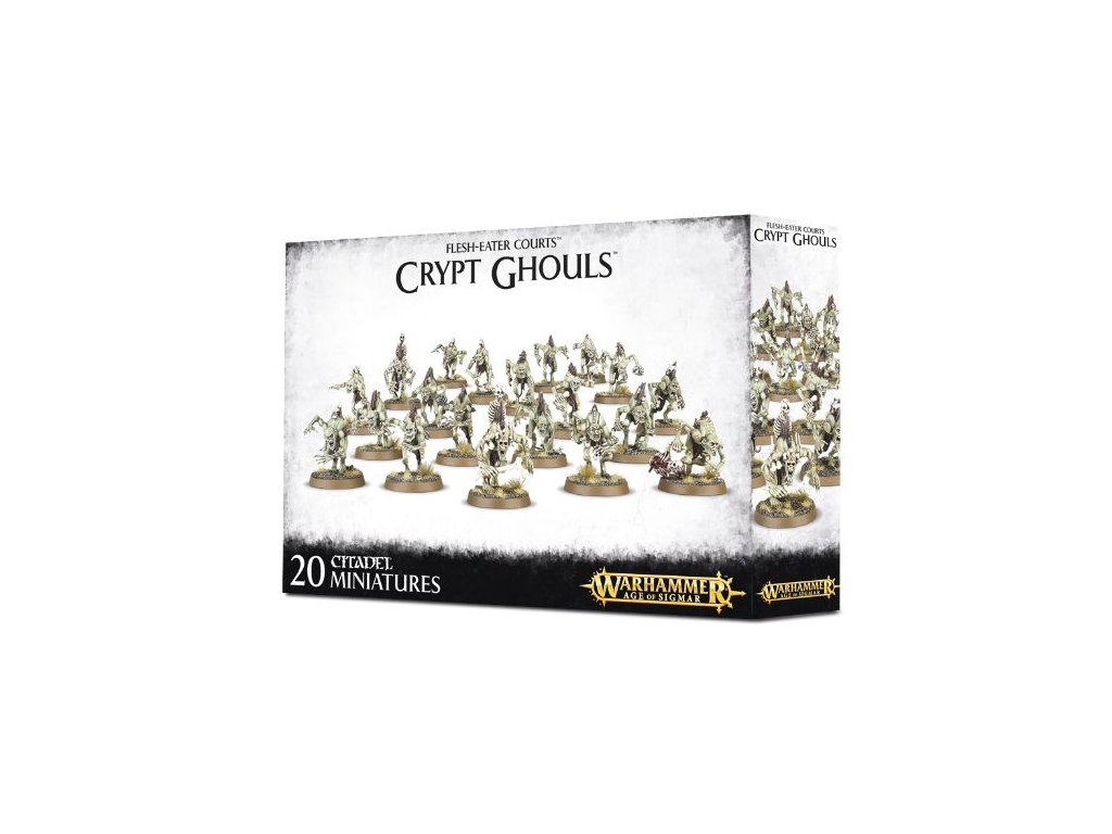 FLESH EATER COURTS CRYPT GHOULS