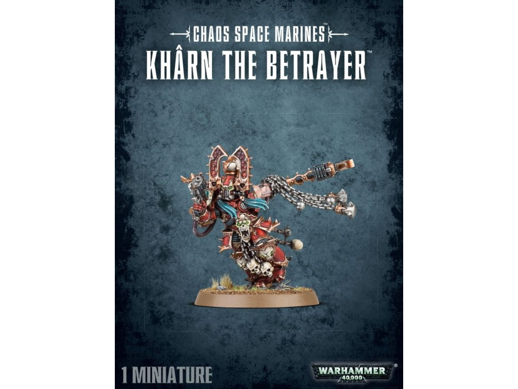 Chaos Space Marines Kharn the Betrayer