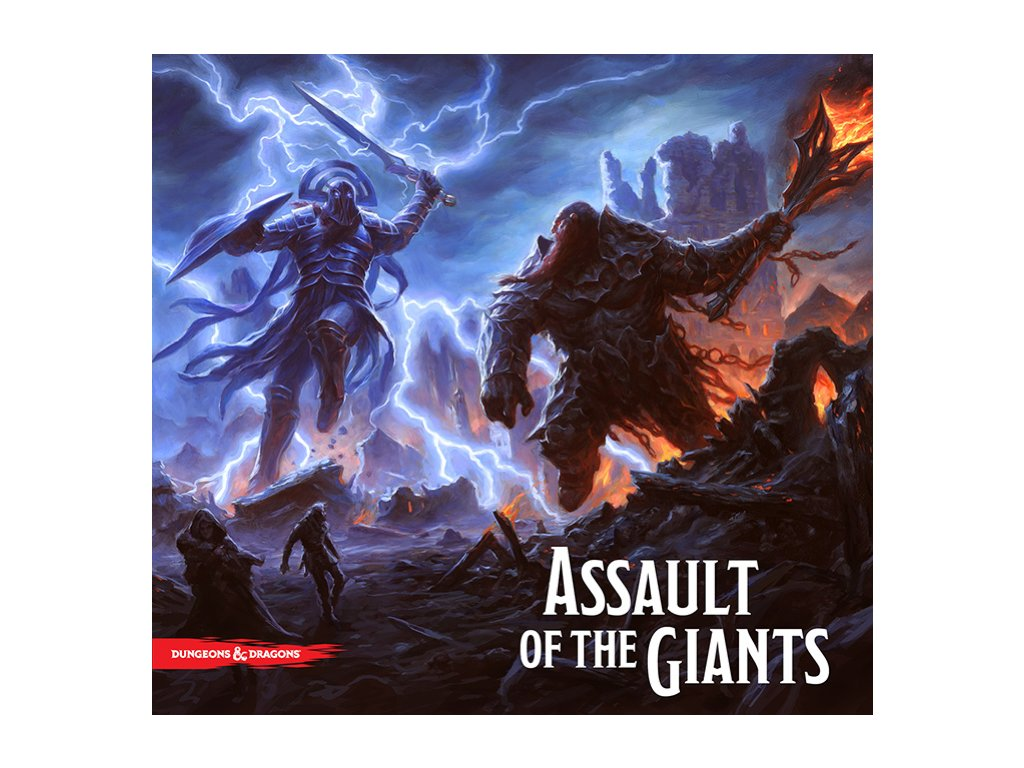Dungeons and Dragons Assault of the Giants