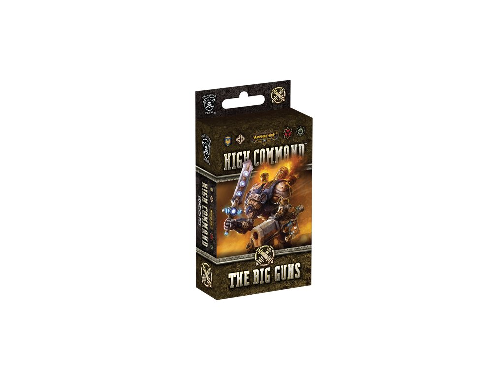 Warmachine: High Command: Big Guns Expansion