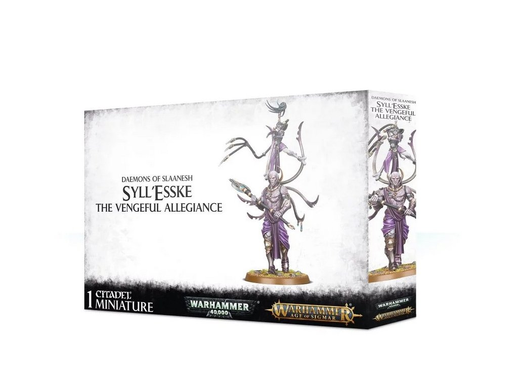 Daemons of Slaanesh Syll Esske