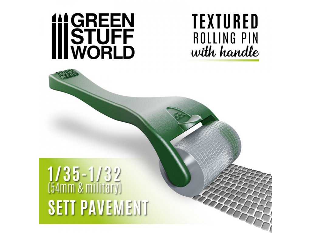 rolling pin with handle sett pavement
