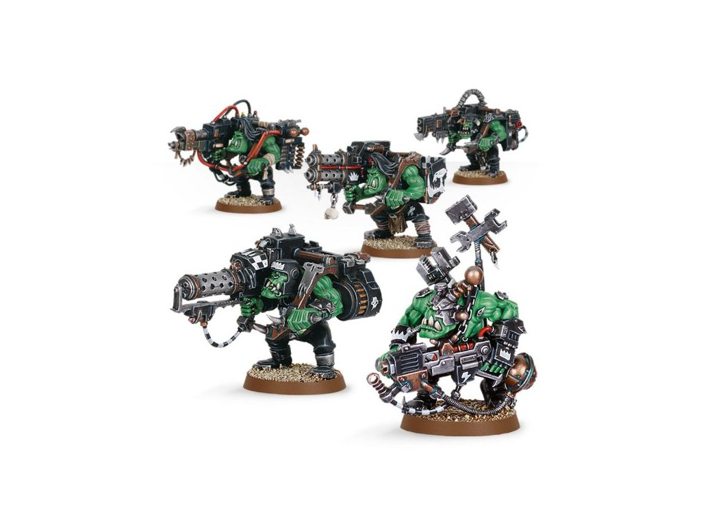 Orks Lootas and Burnas