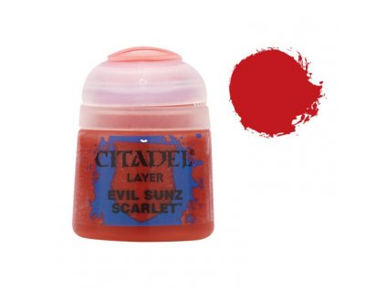 GW Citadel Layer Evil Sunz Scarlet 12ml