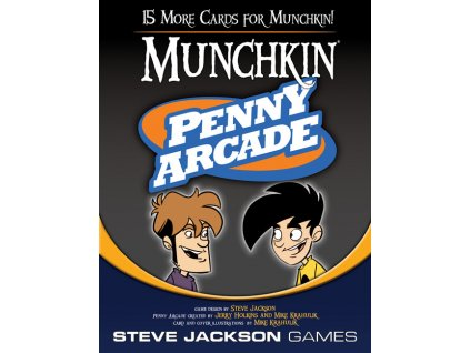 Munchkin: Penny Arcade Booster