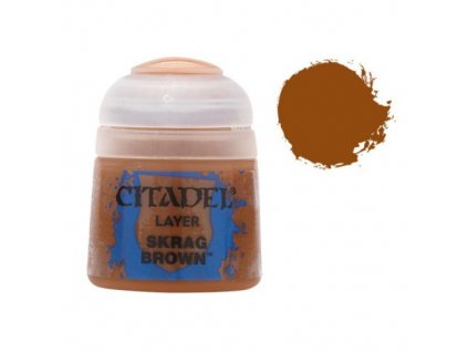 GW Citadel Layer Skrag Brown 12ml