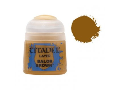 GW Citadel Layer Balor Brown 12ml