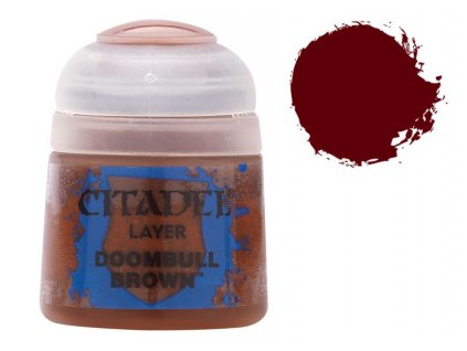 GW Citadel Layer Doombull Brown 12ml