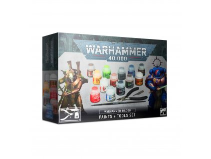 BSF 60 12 99170199014 Warhammer 40000 Paints and Tools Set