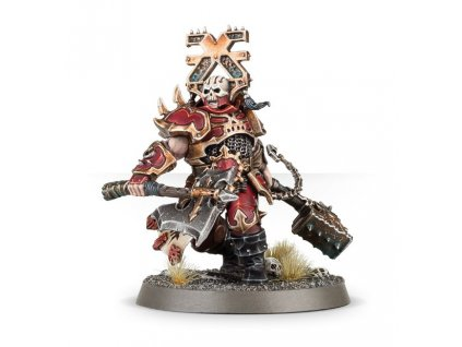 Blades of Khorne Aspiring Deathbringer With Goreaxe