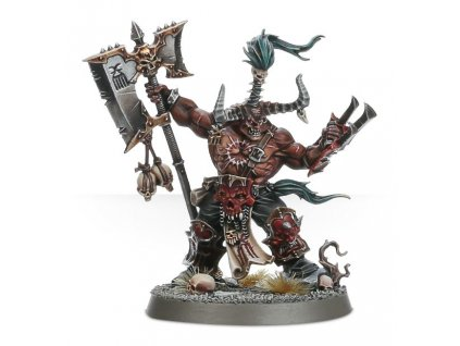 Khorne Bloodbound Exalted Deathbringer with Ruinous Axe