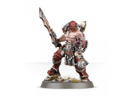 Khorne Bloodbound Slaughterpriest With Hackblade