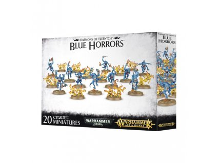 CHAOS DAEMONS BLUE HORRORS & BRIMSTONE HORRORS