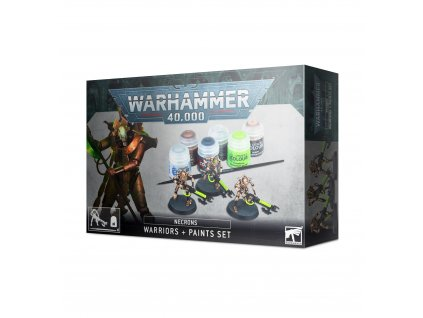 BSF 60 69 99170110003 Necrons Warriors and Paint Set