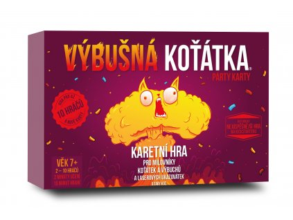 Exploding kittens PARTY vizualizace
