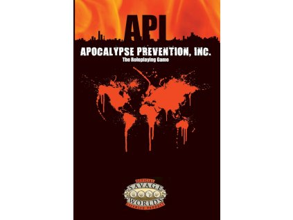 Savage Worlds RPG: Apocalypse Prevention, Inc.