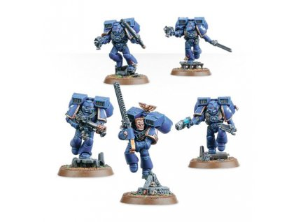 Space Marines Assault Squad