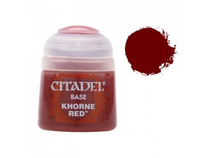 Citadel Base Khorne Red