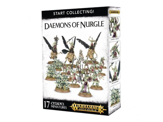 Start Collecting Daemons Of Nurgle