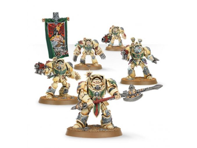 Dark Angels Deathwing Command Squad