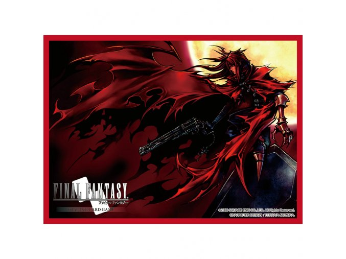 final fantasy vii card sleeves dirge of cerberus vincent 60 main 4908 4908