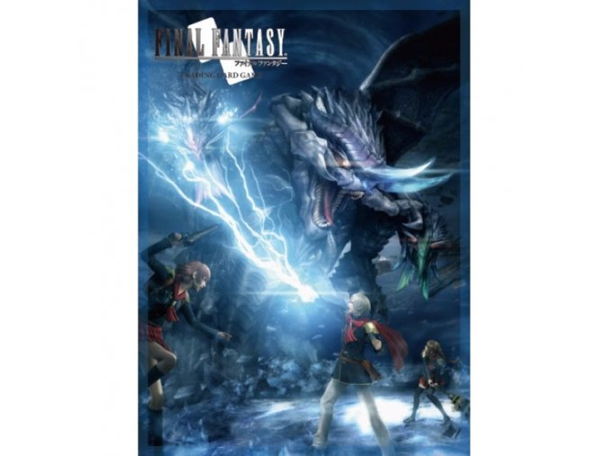 final fantasy tcg type 0 ace sleeves 60 pack raw