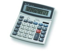 Peach Desktop Display calculator 1206 SE PR662